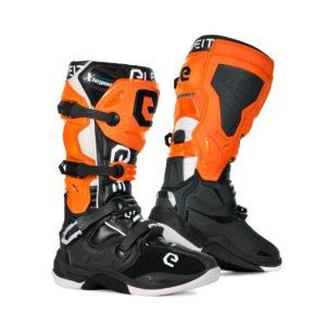 Stivali cross-enduro Eleveit X Legend nero arancio