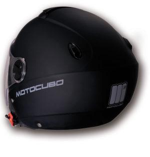 Casco jet Motocubo Cube nero opaco