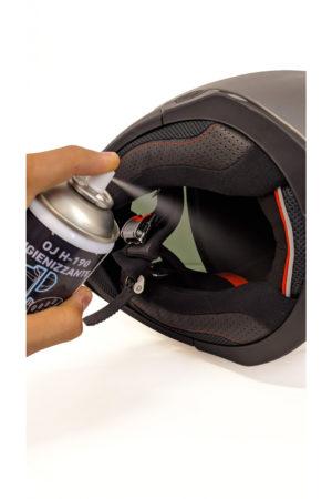 Spray Igienizzante per abbigliamento e casco Oj Igienizzante