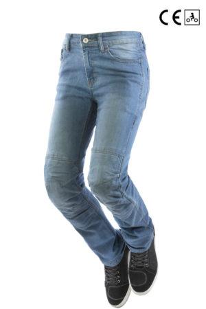 Jeans moto Oj Storm Lady blu