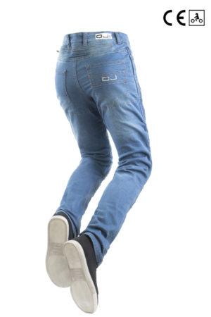 Jeans moto Oj Upgrade Lady blu
