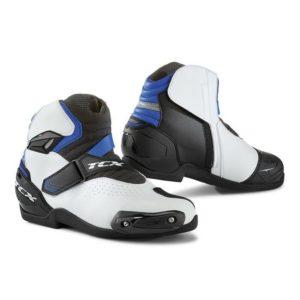 Scarpe moto Tcx Roadster 2 Air bianco nero blu