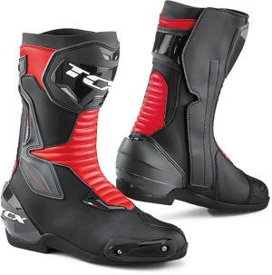 Stivali moto Tcx Sp-master nero rosso