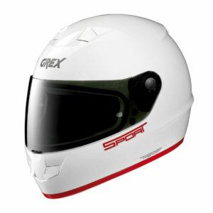 Casco Integrale Grex G6.1 Sport Bianco Rosso