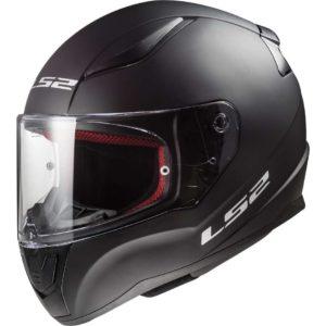 Casco moto integrale Ls2 Rapid Nero Opaco