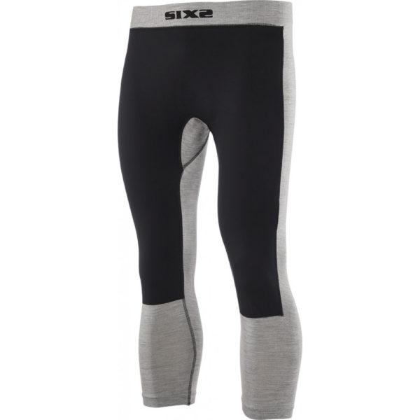 Pantalone intimo antivento Merinos Sixs PNX WB Wool Grigio