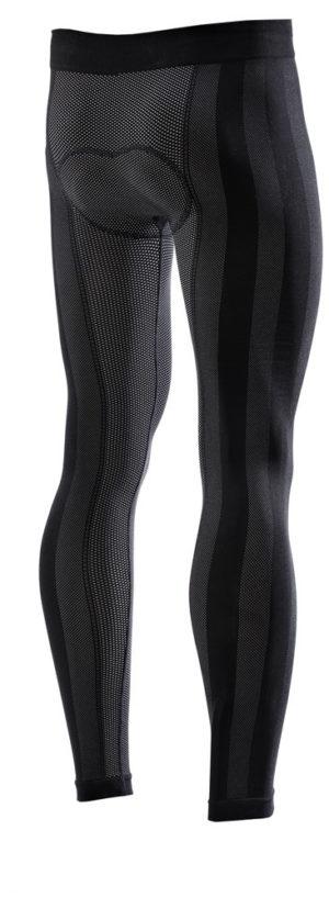 Pantaloni intimi invernali con fondello Sixs PN2W Warm Nero