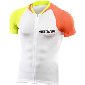 Maglia Ciclismo ultraleggera Sixs Bike3 Ultralight Giallo Arancio