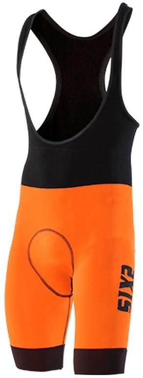 Salopette gamba corta Sixs Slp Luxury Arancione