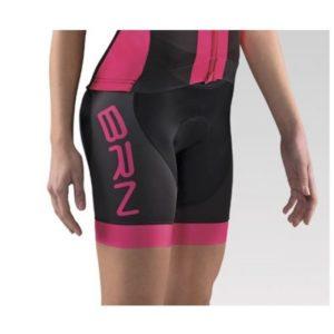 Pantalone ciclismo donna Brn P2FF Fucsia