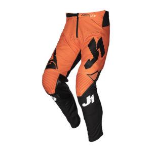 Pantaloni cross-enduro Just1 J-Flex Aria Nero Arancione
