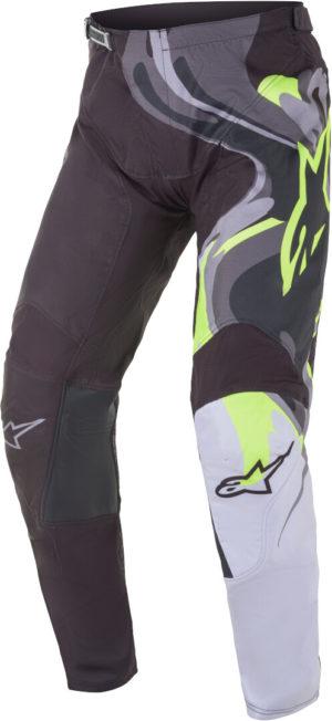 Pantalone cross-enduro Alpinestars Racer Flagship Nero Giallo