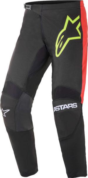 Pantalone cross-enduro Alpinestars Fluid Tripple Nero Rosso Giallo