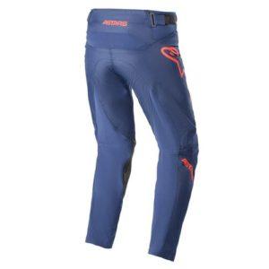Pantalone bimbo cross-enduro Alpinestars Racer Braap Blu Rosso