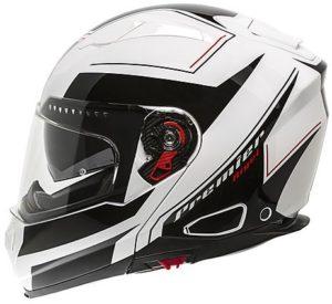 Casco Moto Modulare Premier DELTA RG2 Bianco Nero