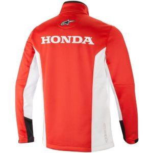 Giacca Softshell Alpinestars Honda Rosso
