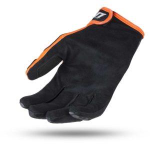 Guanti cross-enduro Ufo Skill Indium Nero Arancio
