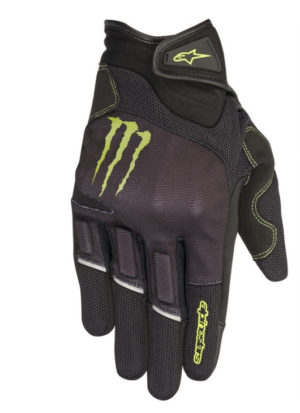 Guanti moto Allpinestars Monster Collection Raid Nero Verde