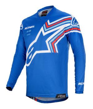 Maglia cross-enduro Alpinestars Racer Braap Blu