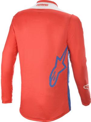 Maglia cross-enduro Alpinestars Racer Supermatic Rosso Blu