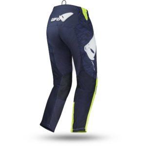 Pantalone cross-enduro Ufo Indium Blu Giallo