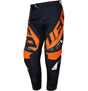 Pantalone cross-enduro Ufo Mizar Nero Arancione