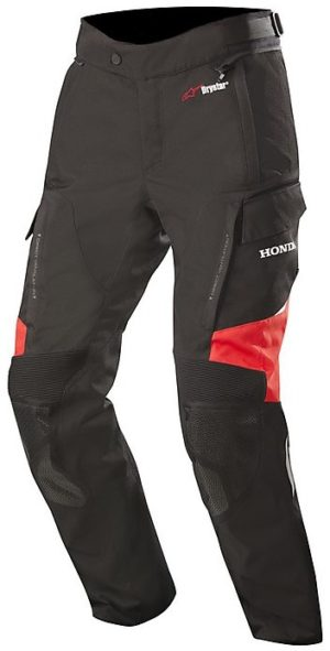 Pantaloni moto quattro stagioni Alpinestars Andes V2 Honda