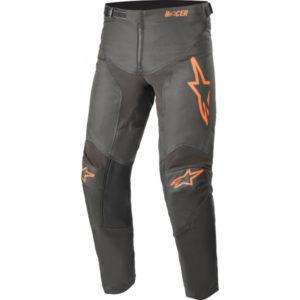 Pantalone bimbo cross-enduro Alpinestars Racer Compass Nero Arancione