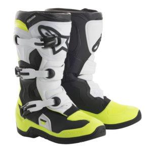 Stivali bimbo cross-enduro Alpinestars Tech 3S Nero Giallo Fluo