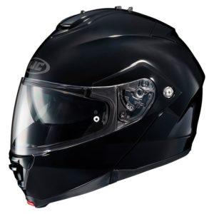 Casco moto modulare Hjc Is Max Bt Nero Lucido