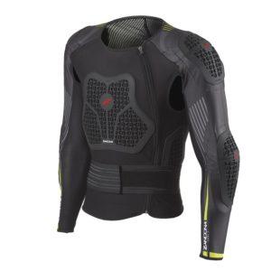 Pettorina protettiva completa Zandonà Netcube Jacket X8 Nero