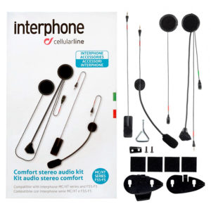 Kit audio Cellularline auricolari e microfono per F5-F5S