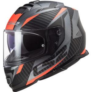 Casco integrale Ls2 FF800 Storm Racer Arancio Fluo