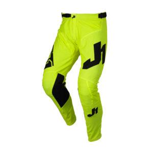 Pantalone cross-enduro Just1 J-Essential Giallo Fluo