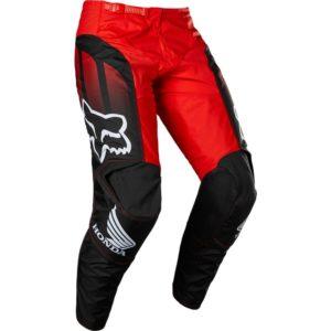 Pantalone cross-enduro Fox 180 Honda Nero Rosso