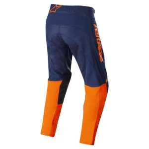 Pantalone cross-enduro Alpinestars Fluid Speed Blu Arancione