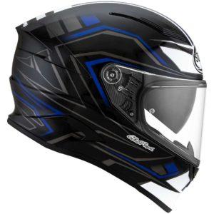 Casco moto integrale Suomy Speedstar Glow Blu
