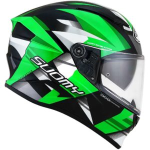 Casco moto integrale Suomy Speedstar Rapido Verde