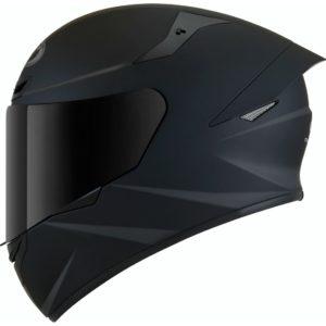 Casco moto integrale Kyt TT-Course Plain Nero Opaco